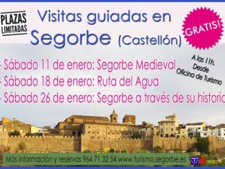Visitas guiadas gratuitas por Segorbe