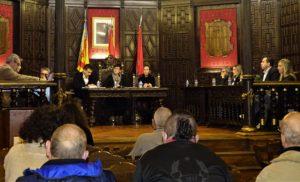 Pleno del Ayuntamiento de Segorbe celebrado el 5 de febrero de 2020. Imagen: Esperanza Orellana