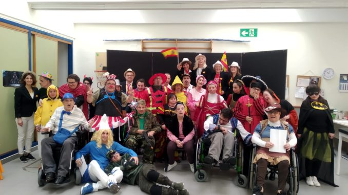 Carnaval en el Centro Ocupacional Alto Palancia