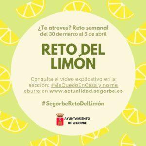 #SegorbeRetoDelLimón