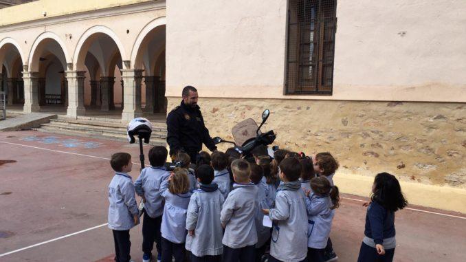 Charla de la Policía Local en el Colegio Seminario