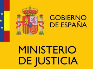 Gobierno de España. Ministerio de Justicia.