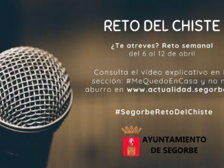 Cartel #SegorbeRetoDelChiste