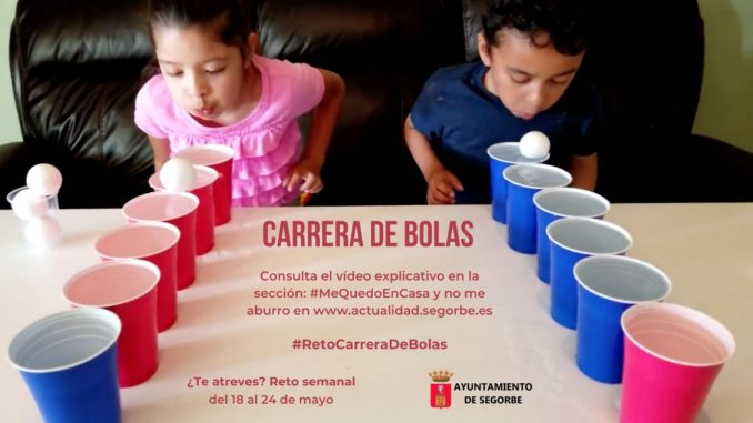 #RetoCarreraDeBolas