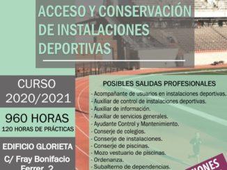 """Título Profesional Básico """"Acceso y conservación de instalaciones deportivas"""""""