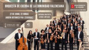 Concierto de la Orquesta de Cuerda de la Comunidad Valenciana