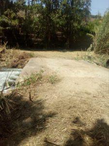 Puente del Borrego antes de su reparación