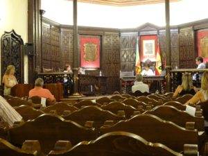Pleno del Ayuntamiento de Segorbe celebrado el 5 de agosto de 2020