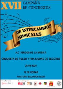 """Concierto de la Orquesta de Pulso y Púa """"Ciudad de Segorbe""""."""