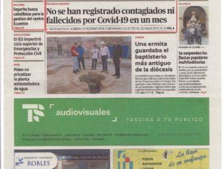 El Periódico de Aquí - Julio (Portada)